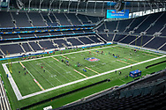 Tottenham Stadium during the NFL Flag National Championship Finals during the NFL UK Media Day at Tottenham Hotspur Stadium, London, United Kingdom on 3 July 2019.