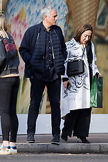 Jose Mourinho pictured going for lunch with his wife - 5 Feb 2019