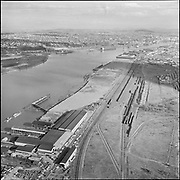 Y-580311B-12. Gunderson, Waterways site, Georgia Pacific site. March 1, 1958