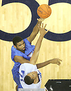 #113 shoots the ball over WF Frank Otis (Oakland, CA / McClymonds) during the NBA Top 100 Camp held Friday June 22, 2007 at the John Paul Jones arena in Charlottesville, Va. (Photo/Andrew Shurtleff)