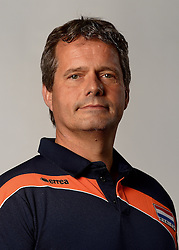 07-04-2014 NED: SELECTIE JONG ORANJE: ARNHEM<br /> Volleybalteam Jong Oranje / Gido Vermeulen, manager Oranje teams<br /> ©2014-FotoHoogendoorn.nl