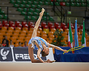 "Sara Rocca by team italia of rhythmic gymnastics  during the ""7th tournament city of Desio"", 09 March 2019."