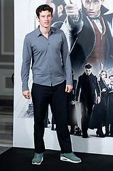 English actor Callum Turner attends to presentation of film 'Fantastic Beasts: The Crimes of Grindelwald' (Animales Fantásticos: Los Crímenes de Grindelwald) at Hotel Villa Magna in Madrid, Spain. November 16, 2018. Photo by Borja B.Hojas/Alter Photos/ABACAPRESS.COM