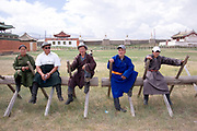 waiting arount at Erdene Zuu, Mongolia