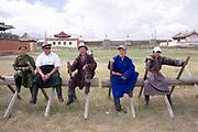 waiting arount at Erdene Zuu, Mongolia