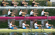 2004 FISA World Cup Regatta Lucerne Switzerland. 18.06.04..Photo Peter Spurrier.Men's four M4-.GER M4- Bow Sebastian Thormann, Paul Dienstbach, Philipp Stueer and Bernd Heidicker. Rowing Course, Lake Rottsee, Lucerne, SWITZERLAND. [Mandatory Credit: Peter Spurrier: Intersport Images]