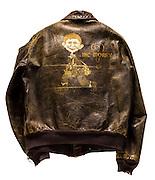 A-2 jacket that belonged to Lt. Col. E.J. North.