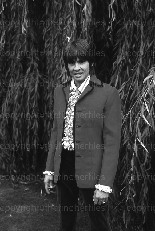 British pop star Davy Jones from the group The Monkeys.1971. Photograph by Terry Fincher