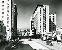 1939 Looking north on Vine St. from Selma Ave.