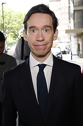© Licensed to London News Pictures. 15/06/2019. London, UK. Conservative Party leadership candidate Rory Stewart arrives at a hustings event in central London. The remaining candidates in the leadership race will face a second round of votes in Parliament on Tuesday next week. Photo credit: Peter Macdiarmid/LNP