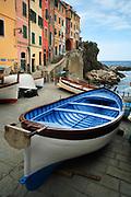 Town of Rio Maggiore in Italy's Cinque Terre national park
