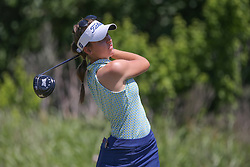 May 6, 2018 - The Colony, TX, U.S. - THE COLONY, TX - MAY 06: Kennedy Pedigo (USA) hits from the 4th tee during the Volunteers of America LPGA Texas Classic on May 6, 2018 at the Old American Golf Club in The Colony, TX. (Photo by George Walker/Icon Sportswire) (Credit Image: © George Walker/Icon SMI via ZUMA Press)