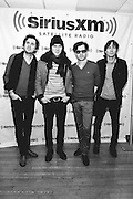 Photos of Phoenix visting the SiriusXM Studios on February 20, 2013 in New York City. Copyright © 2013. Matthew Eisman. All Rights Reserved