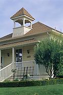 Old schoolhouse at Baileyana Winery, Edna Valley, near San Luis Obispo, San Luis Obispo County, California