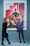 The work of Horst P Horst - Frieze Masters London 2015, Regents Park, London. It covers several thousand years of art from 130 of the world's leading modern and historical galleries. The vetted artworks spanning antiquities, Asian art, ethnographic art, illuminated manuscripts, Medieval, modern and post-war, Old Masters and 19th-century, photography, sculpture and Wunderkammer are brought together in a singular space designed by Anabelle Selldorf.  The fair is open to the public 14–17 October.