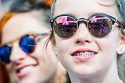 Lana Del Rey plays the Pyramid stage. The 2014 Glastonbury Festival, Worthy Farm, Glastonbury. 27 June 2013.  Guy Bell, 07771 786236, guy@gbphotos.com