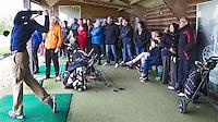 WILNIS - Demonstratie door de pro's van Wilnis,  ter kennismaking  kennismaken met golf tijdens Open Golfdag op Wilnis Golfpark  . COPYRIGHT KOEN SUYK