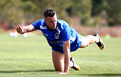 Billy Bodin of Bristol Rovers warms up ahead of training on the first day in Portugal - Mandatory by-line: Robbie Stephenson/JMP - 18/07/2017 - FOOTBALL - Colina Verde Golf & Sports Resort - Moncarapacho, England - Sky Bet League One