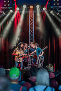 Darlingside perform on the Avalon stage - The 2017 Glastonbury Festival, Worthy Farm. Glastonbury, 23 June 2017