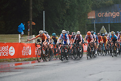 at the 2020 UEC Road European Championships - Elite Women Road Race, a 109.2 km road race in Plouay, France on August 27, 2020. Photo by Sean Robinson/velofocus.com