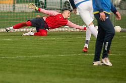 Igor Vekić of Bravo during friendly football match between NK Bravo and NK Aluminij before spring season of Prva liga Telekom Slovenije 2020/21, on January 20, 2021 in Terme Zrece, Slovenia.  Photo by Vid Ponikvar / Sportida