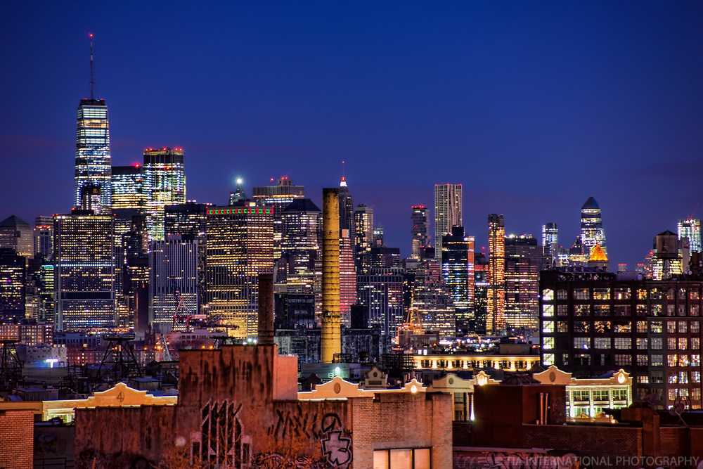 Downtown NYC from Sunset Park, Brooklyn
