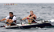 St Peter's Port, Guernsey, CHANNEL ISLANDS, DubaiRowing Club Pair 2006 FISA Coastal Rowing  Challenge,  03/09/2006.  Photo  Peter Spurrier, © Intersport Images,