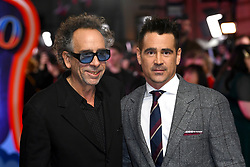 Tim Burton (left) and Colin Farrell attending the european premiere of Dumbo held at Curzon Mayfair, London. Photo credit should read: Doug Peters/EMPICS