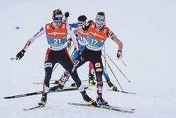 26.02.2021, Oberstdorf, GER, FIS Weltmeisterschaften Ski Nordisch, Oberstdorf 2021, Herren, Nordische Kombination, Langlauf, im Bild v.l.: Joergen Graabak (NOR), Lukas Klapfer (AUT) // f.l.: Joergen Graabak of Norway Lukas Klapfer of Austria during Cross Country Competition of men Nordic combined of FIS Nordic Ski World Championships 2021. in Oberstdorf, Germany on 2021/02/26. EXPA Pictures © 2021, PhotoCredit: EXPA/ Dominik Angerer