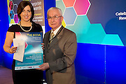 27/01/2014 <br /> SCCUL Enterprise Award<br /> Consumer Goods & Services<br /> (Businesses over 3 Years)<br /> Runner Up<br /> Elysium<br /> <br /> <br /> Owner is Valerie Osborne recieving her award from Paddy O'Donnell SCCUL at the SCCUL Enterprsie awards in the Bailey Allen at NUIG .<br /> Prize is €500 cash and a business profile worth €500 in the special SCCUL Enterprise Awards supplement in the Galway Independent in March<br /> <br /> Elysium Day Sp & Laser Clinic over the past 10 years have received a multitude of National awards recognising and rewarding standards of unsurpassed excellence in professionalism and service as well as contributions made towards innovation in their industry. <br /> Constantly progressing and developing makng them forefront leaders in their sector.<br /> Photo:Andrew Downes