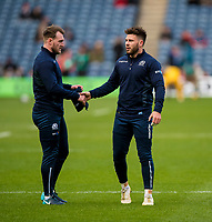 Rugby Union - 2017 Autumn Internationals - Scotland vs. Australia<br /> <br /> Stuart Hogg and Ali Price of Scotland at Murrayfield.<br /> <br /> COLORSPORT