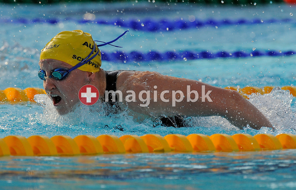 Jessicah SCHIPPER of Australia competes in the women's 100m butterfly semifinal at the 13th FINA World Championships at the Foro Italico complex in Rome, Italy, Sunday, July 26, 2009. (Photo by Patrick B. Kraemer / MAGICPBK)