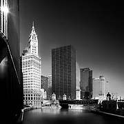 Chicago, U.S, Illinois: Wrigley Building Tower (by Graham, Anderson, Probst & White architects ) at 400 N Michigan Ave. Photographs by Alejandro Sala   Visit Shop Images to purchase and download a digital file and explore other Alejandro-Sala images…