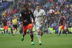 Real Madrid v Valencia 29 April 2017