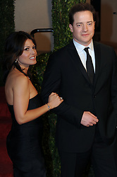 Mar 07, 2010 - Hollywood, California, U.S. - BRENDAN FRASER and a unidentified woman arrive at the Vanity Fair Dinner And After Party celebrating the 82nd Academy Awards, Sunday March 7, 2010, at the Sunset Tower Hotel in West Hollywood, California.  (Credit Image: © Rich Schmitt/ZUMApress.com)