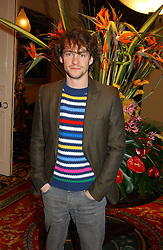 Actor HUGH DANCY at a fashion show of Sybil Stanislaus Summer 2005 collection with jewellery by Philippa Holland held at The Lanesborough Hotel, Hyde Park Corner, London on 13th April 2005.<br /><br />NON EXCLUSIVE - WORLD RIGHTS