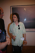 Jeremy Deller. 40th anniversary party. Modern Art Oxford. 14 July 2005. ONE TIME USE ONLY - DO NOT ARCHIVE  © Copyright Photograph by Dafydd Jones 66 Stockwell Park Rd. London SW9 0DA Tel 020 7733 0108 www.dafjones.com