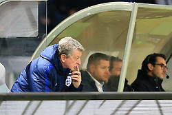 England manager Roy Hodgson looks thoughtful - Mandatory by-line: Matt McNulty/JMP - 26/03/2016 - FOOTBALL - Olympiastadion - Berlin, Germany - Germany v England - International Friendly