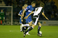 James Tunnicliffe. Stockport County FC 1-0 Port Vale FC. Johnstones Paint Trophy. Edgeley Park. 2.9.08