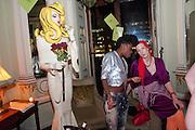 PANDEMONIA; SAFFRON ROSE, Svletlana and Jawek's Asylum seekers arranged marriage valentines party. Home House. 12 February 2010