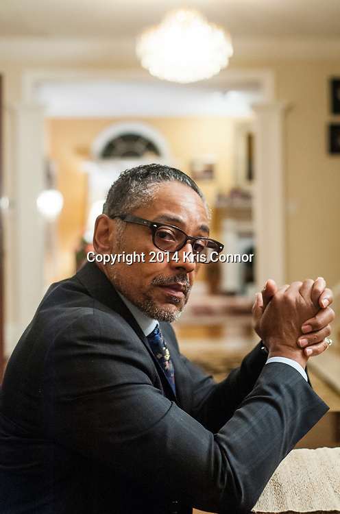 Actor Giancarlo Esposito poses for portraits on November 13, 2014 in Potomac, Maryland.