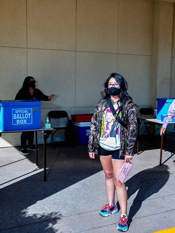 Crystie, 29yo, Communication Specialist at University of Davis, Chinese American.<br /> <br /> I decided to vote because it's important to take part in shaping the future for our communities and the young generation. It may feel like a small part, but it's crucial to set an example especially for Asian Americans to use our voices to make a change in our society.<br /> <br /> Q: As a Chinese American do you feel that your voice is represented in this country?<br /> A: I don't think we are represented but it is getting there. Seeing more Asian Americans in political seats really gives a sense of pride and representation needed to help make policy changes for our communities and other communities alike.<br /> <br /> The COVID pandemic hasn't impacted my life directly. Unfortunately, I have family members whose businesses are affected due to the racial discrimination caused by this administration & president. My brother was verbally attacked at a coffee shop by someone assuming he has COVID for being Chinese.<br /> <br /> I'd love to see systemic and policies changed after the election in hopes that the current sitting president is not re-elected. I'd love to see more funding for education and underserved communities. I'd love to see communities receiving quality mental health and trauma-informed treatment and resources. I'd also love law enforcement be held more accountable for the actions & bringing justice to those who lost their lives by being racially profiled.<br /> <br /> I'd like to encourage young people to go out and vote especially Asian Americans and have those tough conversations with their parents about the racial social injustice happening in our country. And talk about the systemic issues that have been going on for so many years. Don't be afraid to be uncomfortable and take the time to learn. Use your voice to vote and present change you want to see in your world. Asian Pacific Islander American Voters Election 2020