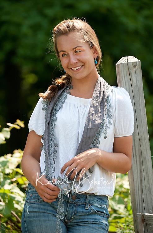 Portrait of a beautiful young lady June 8, 2011. Meg portrait session June 8, 2011.