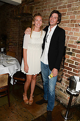 TOR COOK and HUGO HEATHCOTE at an evening of Dinner & Dancing at Daphne's, 112 Draycott Avenue, London SW3 on 24th July 2013.