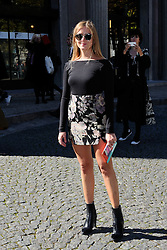 Valentina Ferragni attending the Miu Miu show as a part of Paris Fashion Week Ready to Wear Spring/Summer 2017 in Paris, France on October 05, 2016. Photo by Aurore Marechal/ABACAPRESS.COM