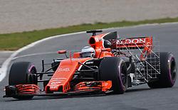 March 1, 2017 - Barcelona, Spain - The McLaren Honda of Fernando Alonso during day three of Formula One winter testing at Circuit de Catalunya on March 1, 2017 in Montmelo, Spain. (Credit Image: © Jordi Galbany/NurPhoto via ZUMA Press)