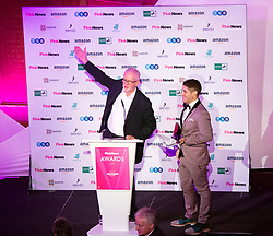 Pink News Awards 2019 <br /> At Church House, London, Great Britain <br /> 16th October 2019 <br /> <br />  Jeremy Corbyn<br /> Leader of the Labour Party <br /> Presents the Drama award to Eastenders <br /> <br /> <br /> Photograph by Elliott Franks