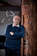 Mark Elder photographed for the cover of BBC Music Magazine Mark Elder portrait
