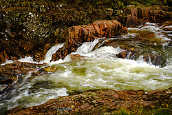 The lower falls on the Water of Nevis where it becomes the River Nevis.  Glen Nevis, Highlands of Scotland<br /> <br /> (c) Andrew Wilson | Edinburgh Elite media