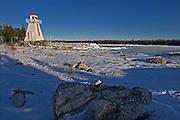 Lighthouse on Georgian Bay (Lake Huron)<br /> South Baymouth on Manitoulin Island<br /> Ontario<br /> Canada